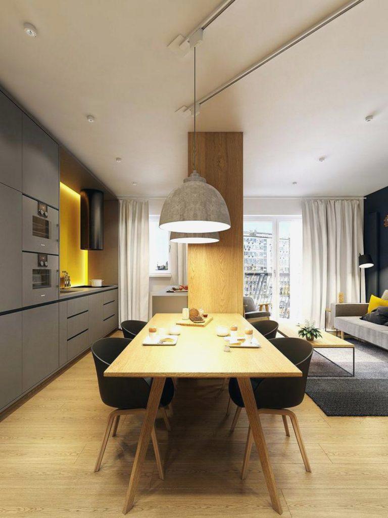 phong cách thiết kế nội thất phòng khách chung cư