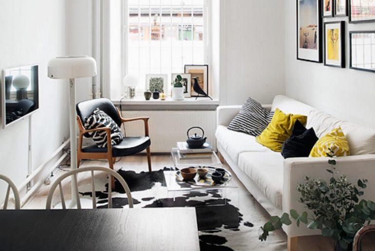 thiết kế nội thất cho phòng khách chung cư nhỏ hẹp