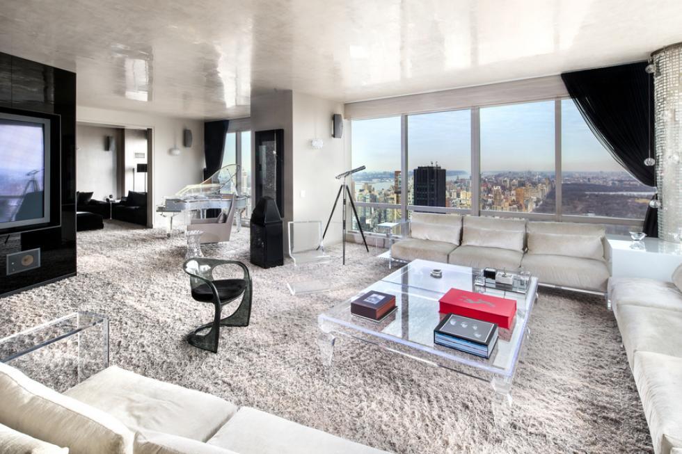 nội thất cho phòng khách chung cư rộng