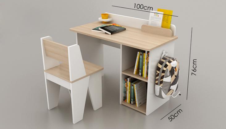 Gợi ý chiều cao cho bàn ghế học bài trí trong phòng ngủ của trẻ em