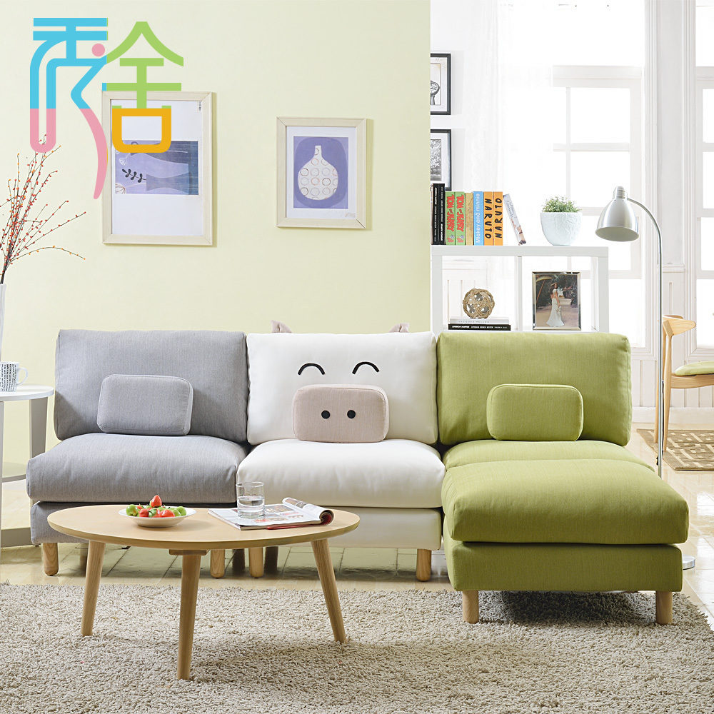 sofa dễ thương cho chung cư nhỏ