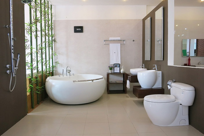 bộ nội thất phòng tắm cao cấp