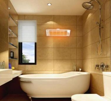 đèn sưởi phòng tắm
