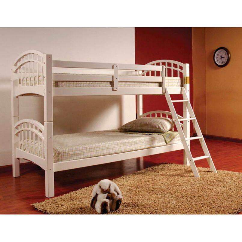 giường gỗ 2 tầng cho bé trai