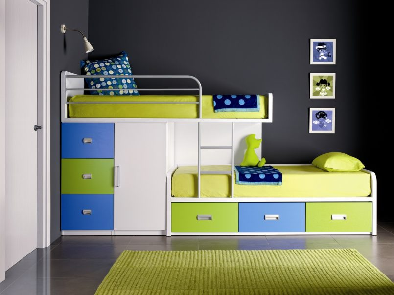 giường ngủ kiêm tủ đồ đẹp