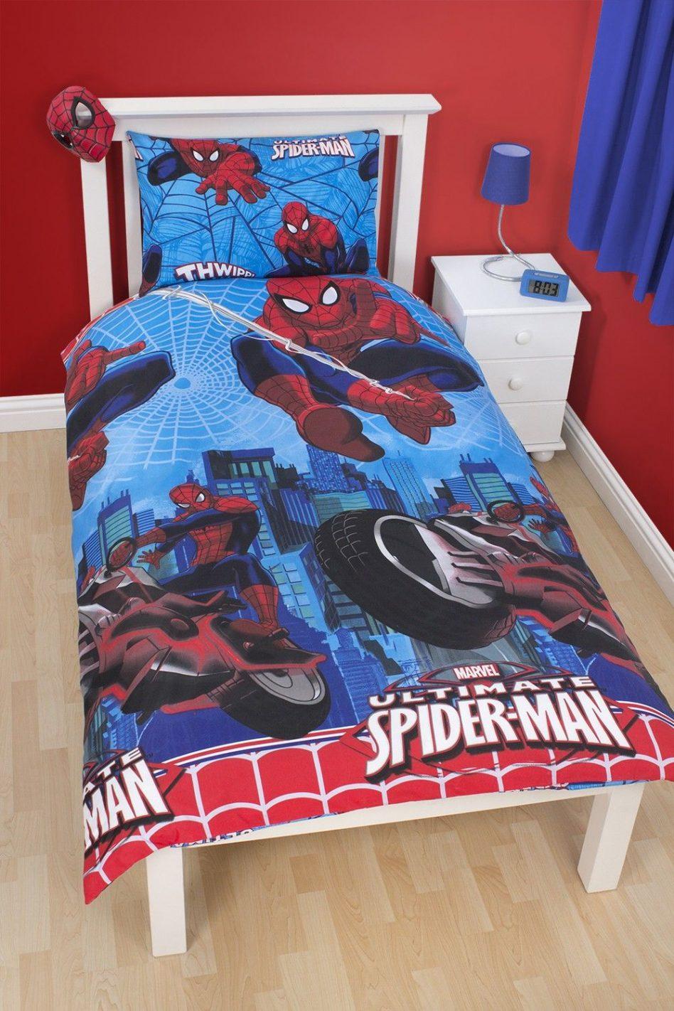 chăn ga gối đệm người nhện