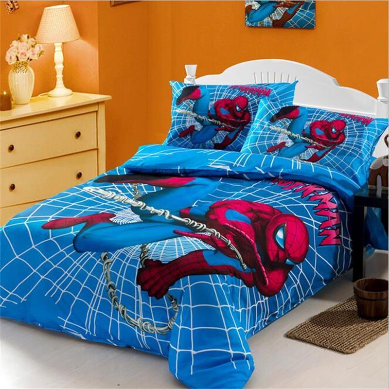giường ngủ spider man