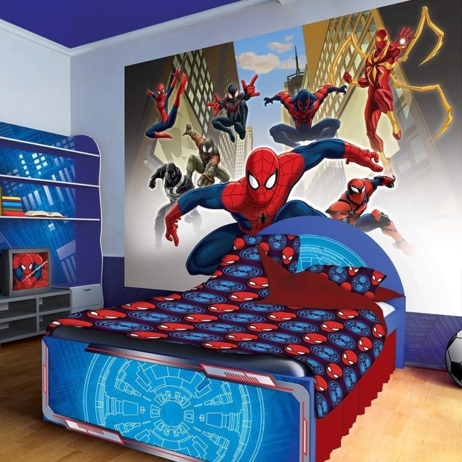 giường ngủ phong cách người nhện