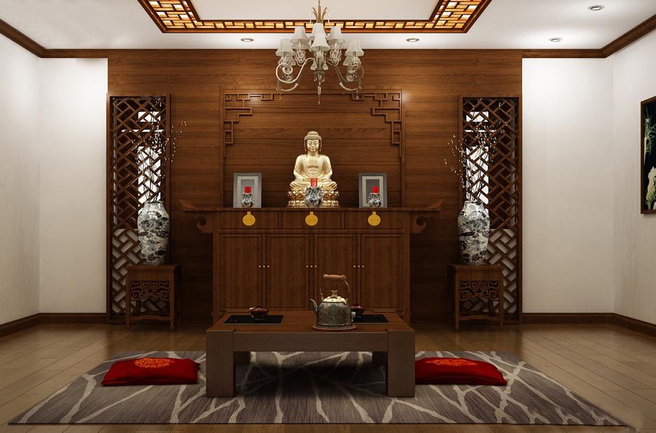 nội thất phòng thờ đơn giản hiện đại