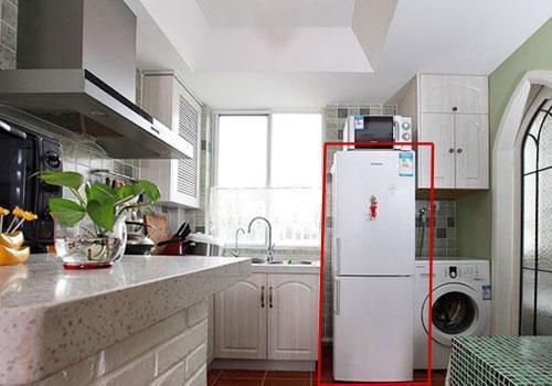 bài trí tủ lạnh trong phòng bếp gia đình