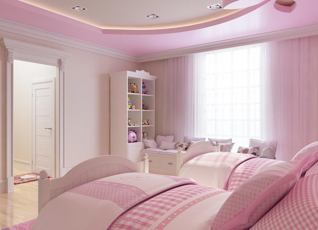 mẫu trần thạch cao đẹp dành cho phòng ngủ