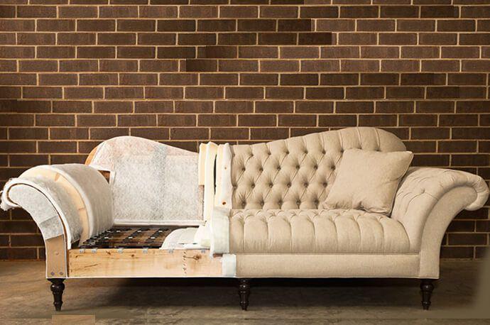 bộ ghế sofa cũ kém chất lượng