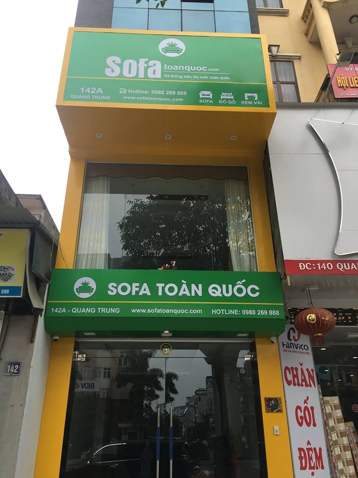 Showroom Sofa Toàn Quốc 3 tầng tại 142A Quang Trung Hà Đông Hà Nội