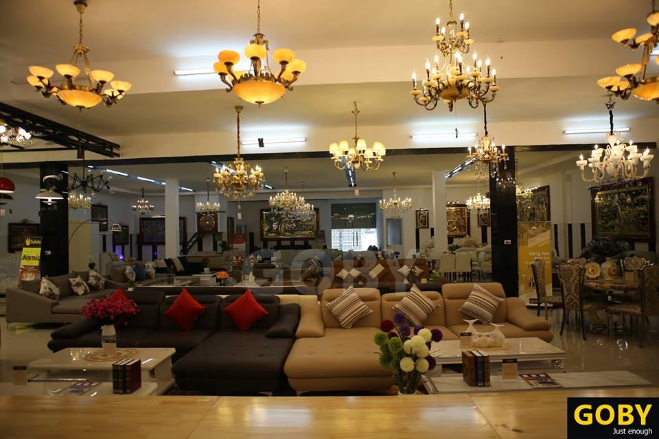 Siêu thị nội thất Goby chuyên sofa da