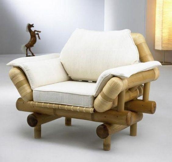 sofa đơn bằng tre đẹp