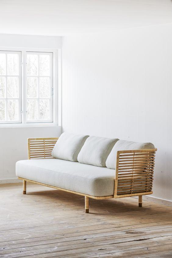 ghế sofa mây tre tự nhiên