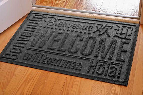 thảm welcome đa ngôn ngữ
