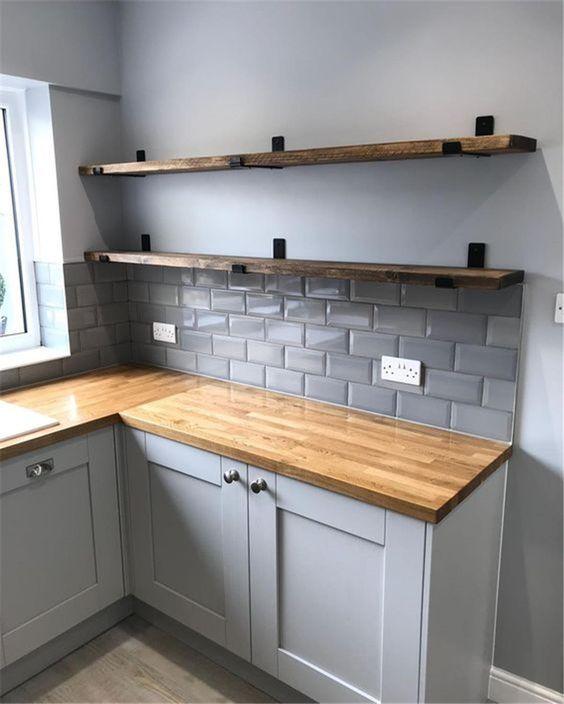 phòng bếp diện tích 8m2