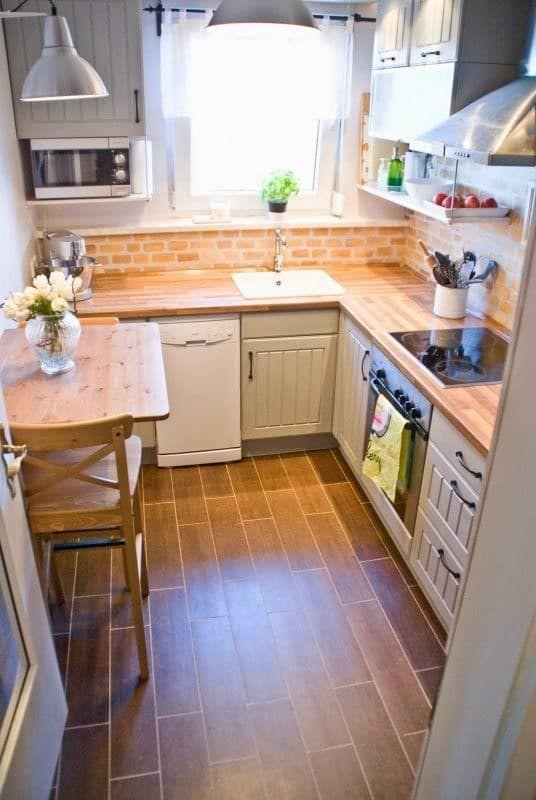 phòng bếp nhỏ phải làm sao?