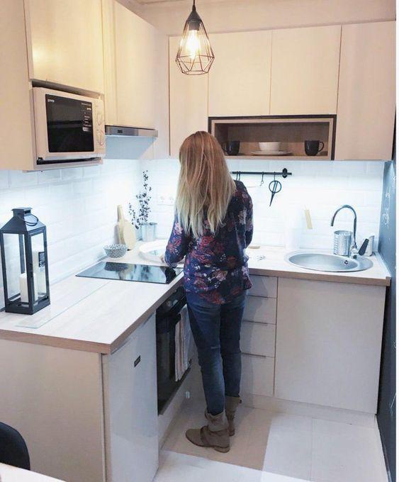 bếp chung cư mini cỡ nhỏ
