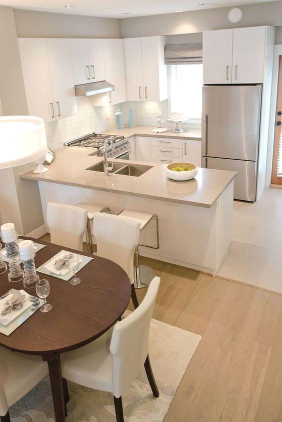 phòng bếp chung cư nhỏ đẹp