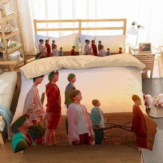 giường ngủ bts