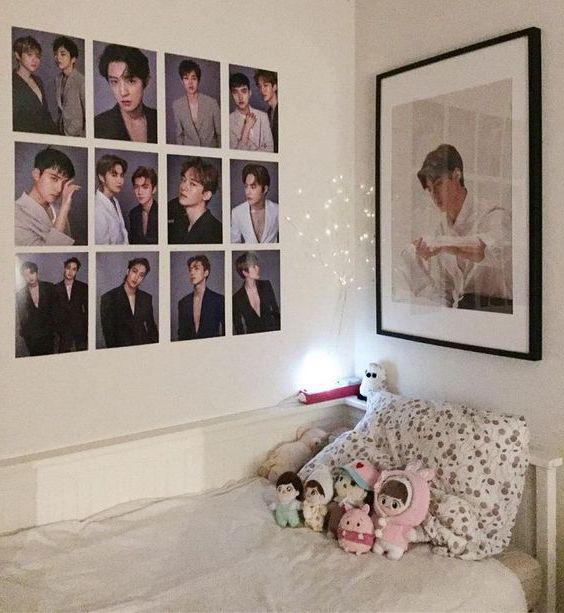 trang trí phòng ngủ fan bts tại Việt Nam