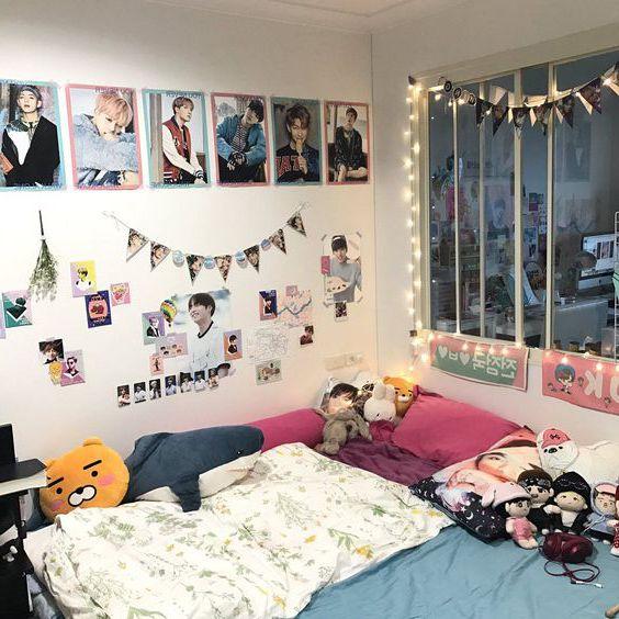 Phòng ngủ ấm cũng với cách trang trí đẹp và tinh tế.