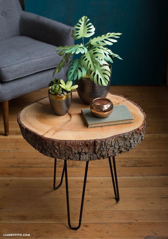 đôn gỗ để chậu cây cảnh