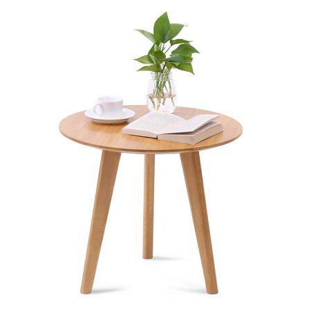 đôn ghế gỗ sồi tròn