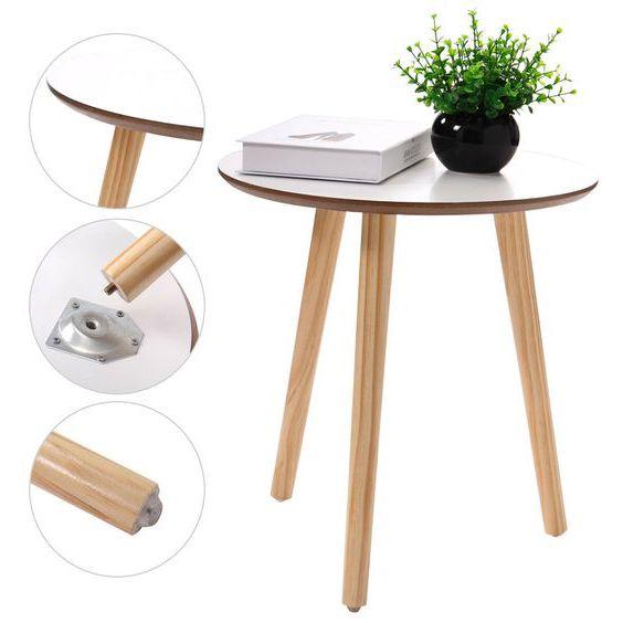 đôn ghế gỗ tròn bằng gỗ công nghiệp