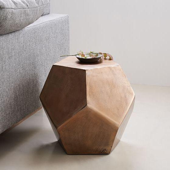 đôn gỗ tròn lục giác