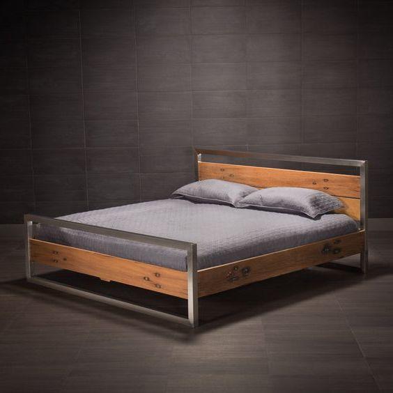 giường ngủ khung sắt hộp