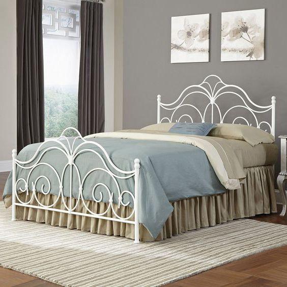 giường ngủ khung sắt cổ điển