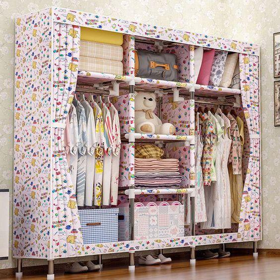 tủ quần áo vải giá bao nhiêu