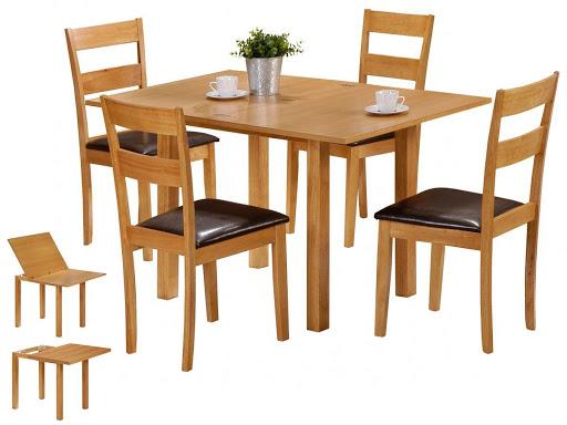 Giá bàn ghế ăn Xuân Hòa bao nhiêu phụ thuộc vào chất liệu của bộ bàn ghế đó.