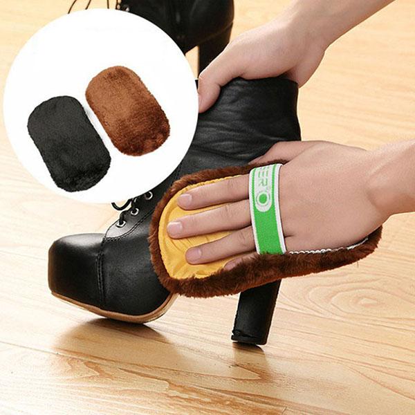 Dụng cụ đánh bóng sofa da cần thiết trong gia đình. Có thể sử dụng với cả sofa da, túi da, giày da.