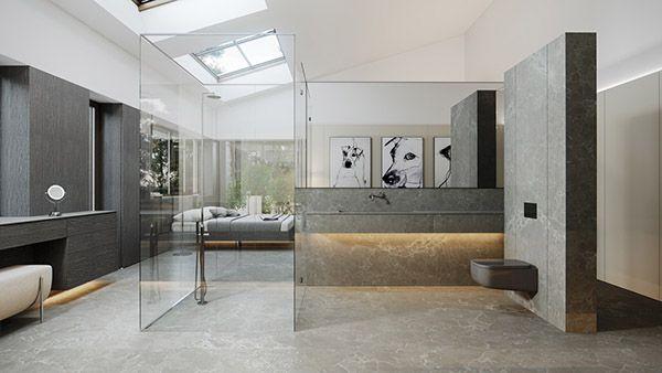 phòng tắm rộng hiện đại sang trọng