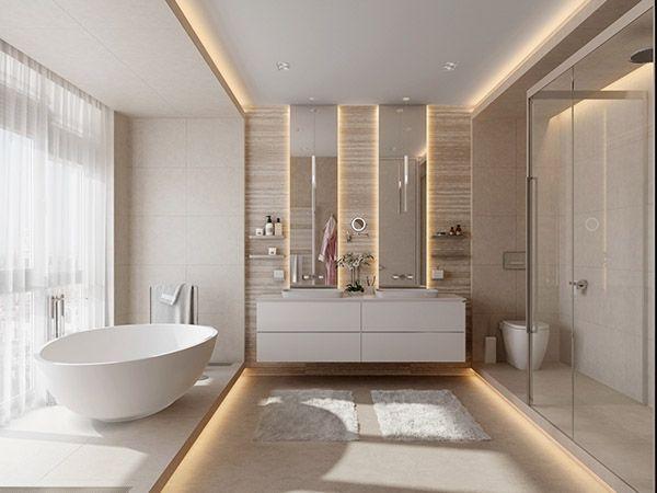 phòng tắm hiện đại sang trọng