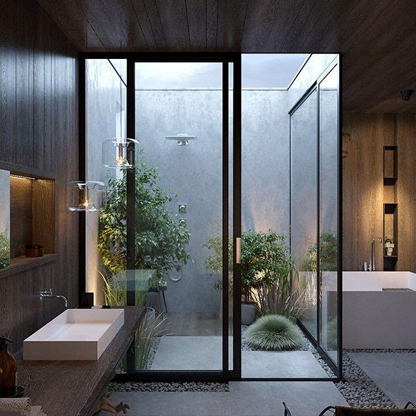 phòng tắm nhỏ hiện đại