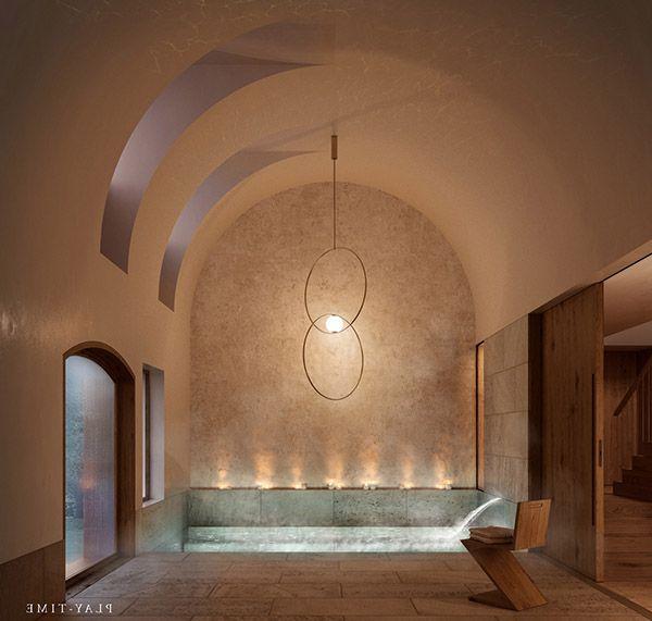 phòng tắm hiện đại ấm áp