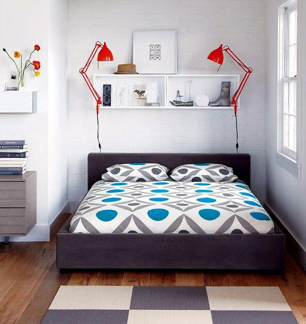 Cách kê giường ngủ gọn gàng ngăn nắp mang tới giấc ngủ ngon.