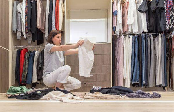 cách sắp xếp quần áo ngăn nắp phù hợp