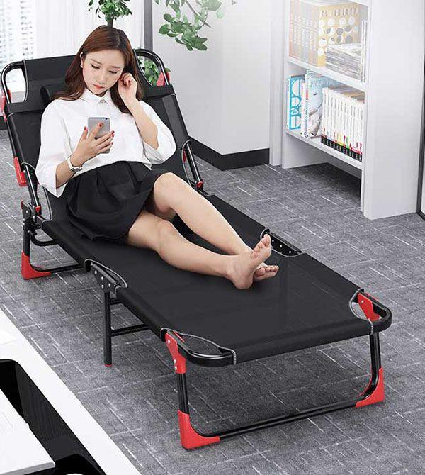 ghế ngủ trưa văn phòng gấp gọn