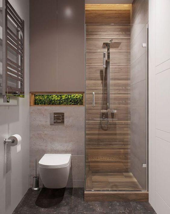 phòng tắm nhỏ diện tích 1m2