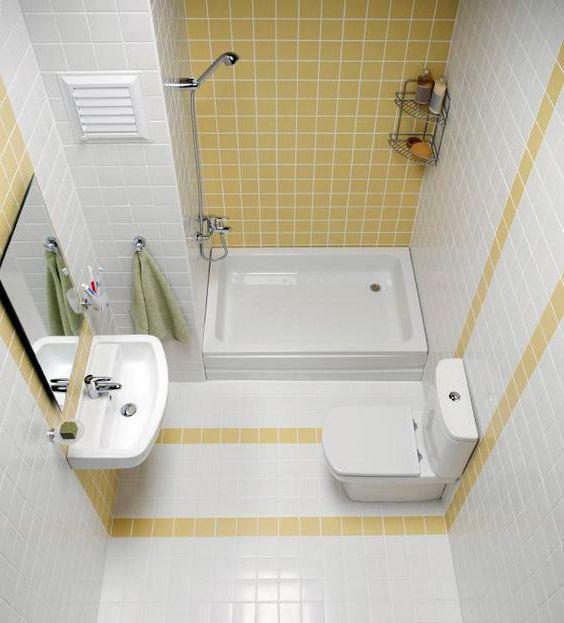 diện tích phòng tắm nhỏ 1m2