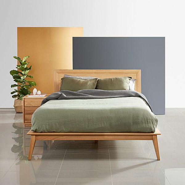 giường ngủ queen đơn giản